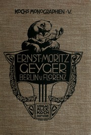 Ernst Moritz Geyger, Berlin-Florenz
