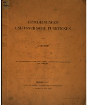 Erscheinungen und psychische Funktionen