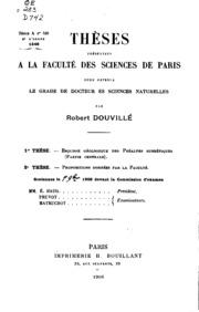 Esquisse géologique des Préalpes subbétiques: partie centrale