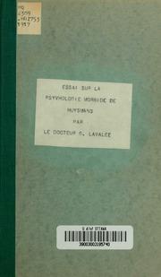 Essai sur la psychologie morbide de Huysmans