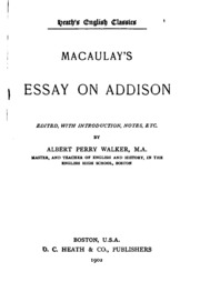 Macaulay honors essay