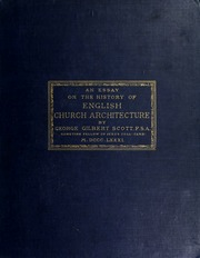an essay on the history of english church architecture prior to  an essay on the history of english church architecture prior to the separation of england from the roman obedience