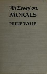 philip wylie essay morals