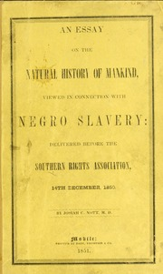 the southern view of slavery essay Library of congress teachers slavery was actually a dying institution indeed, southern cities, as well as many in the north.