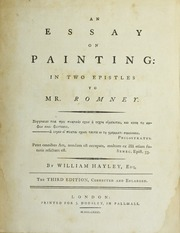 an essay on sculpture hayley william  an essay on painting in two epistles to mr romney