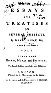 david hume essays and treatises David hume essays and treatises if you need a custom written essay, term paper, research paper on a general topic, or a typical high school, college or university.