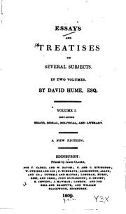 essays and treatises Essays and treatises on several subjectsvolume 4 essays and treatises on several subjects, volume 4 , noté 00/5 retrouvez essays and treatises on several subjects.