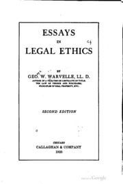"""law vs ethics essay I have spent a great deal of time writing about the dangers of precautionary principle thinking in my recent articles and essays, including my recent law review article, """"technopanics, threat inflation, and the danger of an information technology precautionary principle,"""" as well as in two lengthy blog posts."""