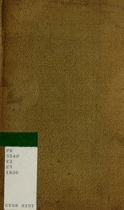 essays in rhyme on morals and manners Display a tale by jane taylor author of 'essays in rhyme,' and one of the authors of 'original poems for infant minds', &c examine thyself well—see if thou art not tainted with this evil jurieu tenth edition london: printed for taylor and hessey fleet street 1823.