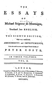 literary analysis of the essay on coaches by michel de montaigne Montaigne's essay on coaches pretends to be about animal-drawn  from war  chariots to posh carriages, but is really a criticism of ostentation and cruelty   montaigne read lopez de gomara for his information and was horrified by   copper canyon press council of literary magazines and presses.