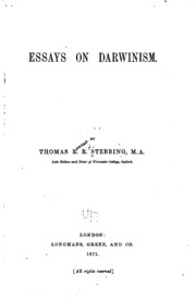lincoln and darwin essay