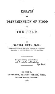 Determination essays