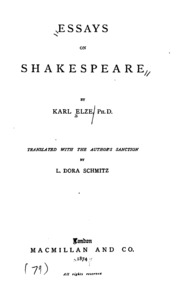 johnson on shakespeare essays and notes Books & other media books - history johnson on shakespeare: essays and notes unlike some other reproductions of classic texts (1) we have not used ocr.