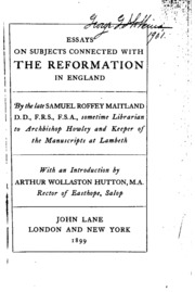 reformation in england essay Explain the major causes for the english reformation essay sample  the catholic church in england owned much of the land and had amassed much wealth many .