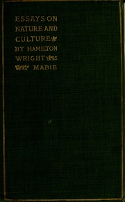 essays on nature and culture Get this from a library essays on nature and culture [hamilton wright mabie.