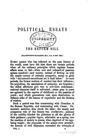 archibald alison essays Miscellaneous essays by archibald alison re printed form the english originals, with the author's corrections for this ed.