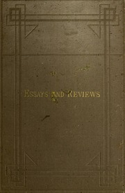 essays reviews 1860 Online download essays and reviews the 1860 text and its reading victorian literature and culture series essays and reviews the 1860 text and its reading.