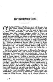 twenty two essays of william hazlitt hazlitt william  essays of william hazlitt
