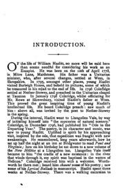 twenty two essays of william hazlitt hazlitt william  essays of william hazlitt