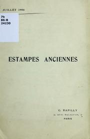 Estampes anciennes : juillet 1906