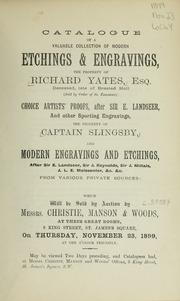 Etchings & engravings; choice artists proofs; modern engravings and etchings