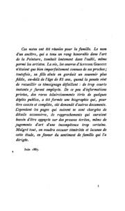 etude biographique 1753-1817