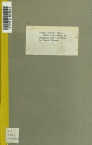 Etude historique et critique sur les Actes du frère Didace, récollet