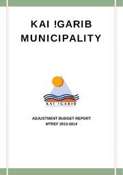 NC082 !Kai! Garib Adjustment Budget 2013-14