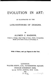 the evolution of decorative art an essay upon its origin and  evolution in art as illustrated by the life histories of designs
