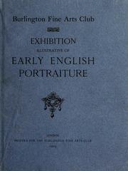 Exhibition illustrative of early English portraiture