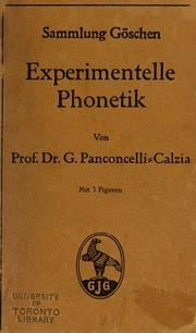Experimentelle Phonetik