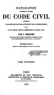 Explication th orique et pratique de la loi du 21 mai 1858 - Article 675 du code civil ...