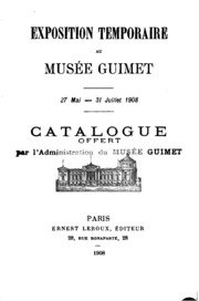 Exposition temporaire au Musée Guimet