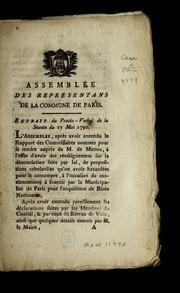 ...Extrait du procès-verbal de la séance du 17 mai 1790.