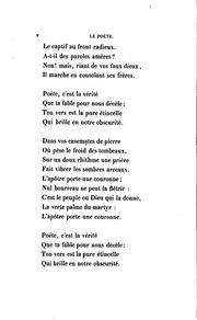 Fables et poésies