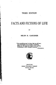 Facts And Fictions Of Life