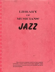 Firehouse jazz band fake book