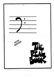 The Real Book - Fifth Edition - F - Bass Clef : Free Download