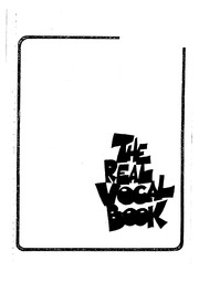 Real Vocal Book Pdf