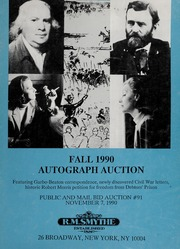 Fall 1990 Autograph Auction (pg. 19)