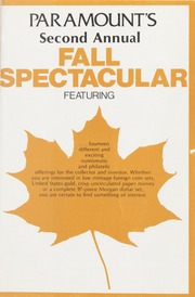 Paramount's Second Annual Fall Spectacular