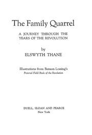 a family quarrel essay