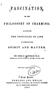 a philosophical essay on credulity and superstition and also on fascination or the philosophy of charming illustrating the principles of