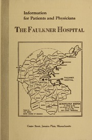 Faulkner Hospital information for patients and physicians