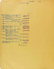 F.C.C. Boyd Invoices from B.G. Johnson, February 11, 1943, to June 29, 1943