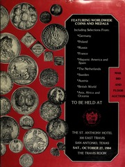 Featuring worldwide coins and medals ... [10/27/1984]