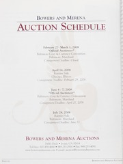 The February 2008 Baltimore Auction