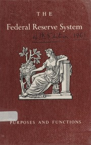 The Federal Reserve System, Fourth Edition