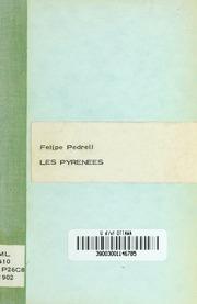 Felipe Pedrell et Les Pyrénées