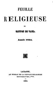 Vol 24: FEUILLE RELIGIEUSE
